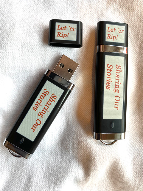 Sharing Our Stories Flash Drive